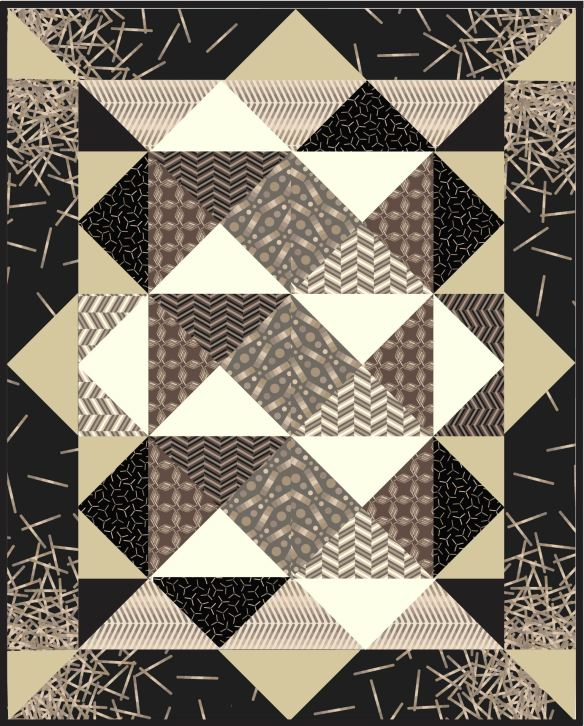 Pop Rox quilt by Carol Van Zandt
