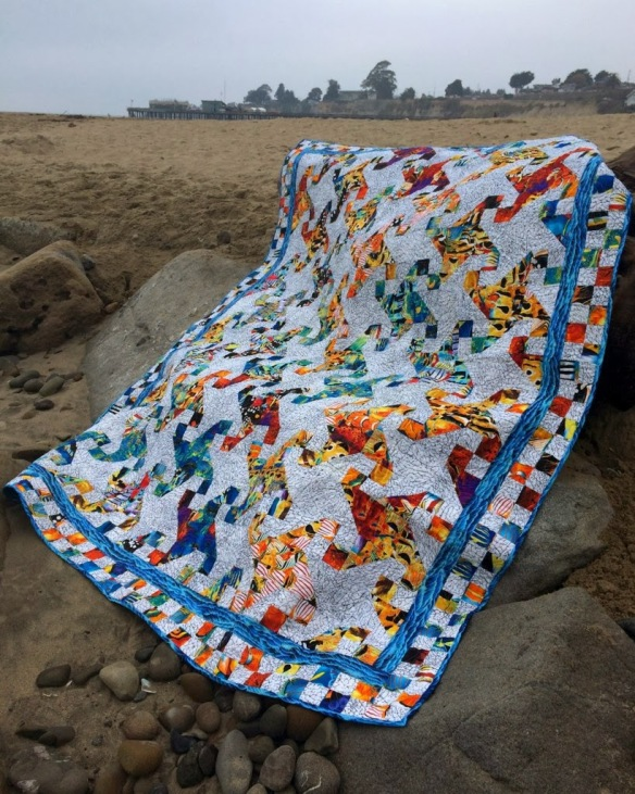 Rip Curl by Karen Foster, Capitola Quilter
