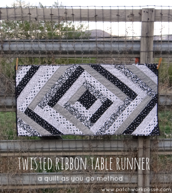 Twisted Table Runner by Patchwork Posse