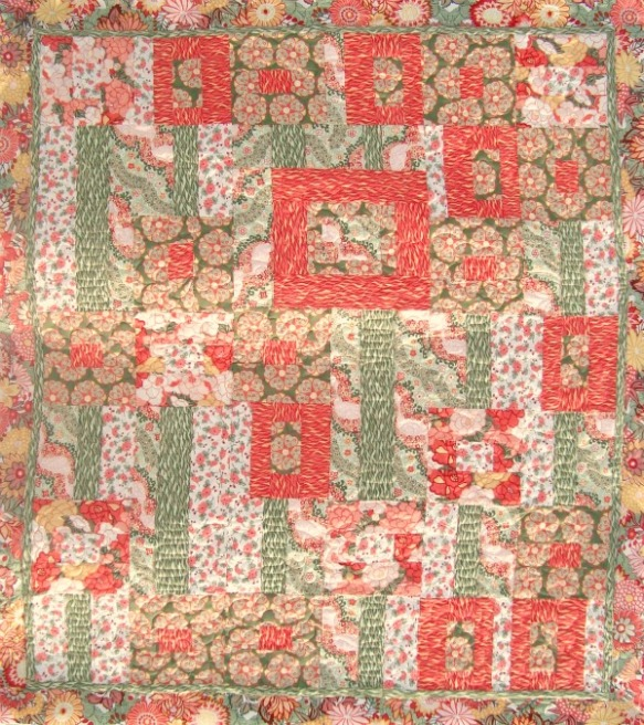 Rococo Gardens Quilt by Patchwork Posse using Tokyo Rococo