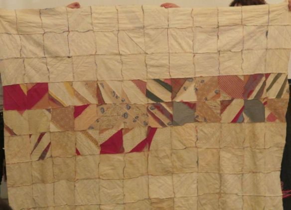 quilt top back From the collection of Roderick Kiracofe