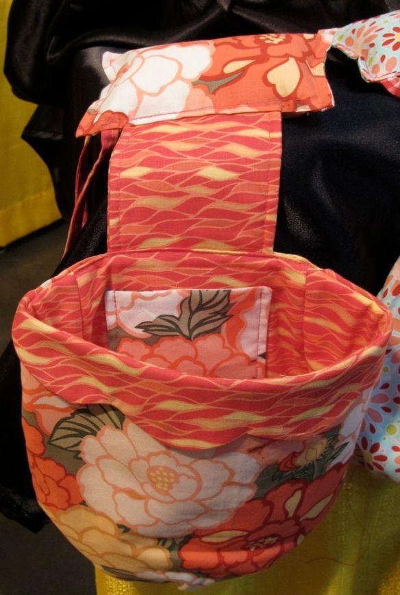 Scrap Sack by Ocean Lake Designs using Tokyo Rococo by Carol Van Zandt