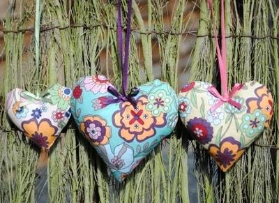 Lavender Heart Trios by The Wise House