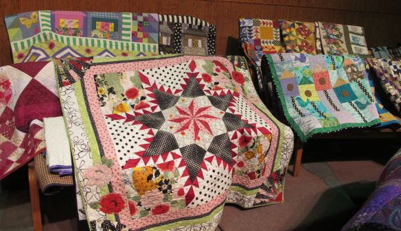 quilts by Diana McClun and Laura Nownes