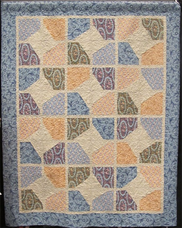Abbey Star Quilt by Mountainpeek Creations using Downton Abbey fabrics by Kathy Hall