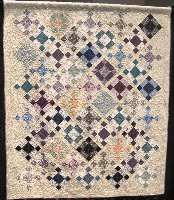 Ladies of Downton Abbey quilt pattern by Tiffany Hayes using Downton Abbey fabric by Kathy Hall