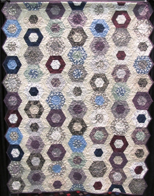 Ladies of Downton Abbey quilt by Tiffany Hayes using Downton Abbey fabric by Kathy Hall
