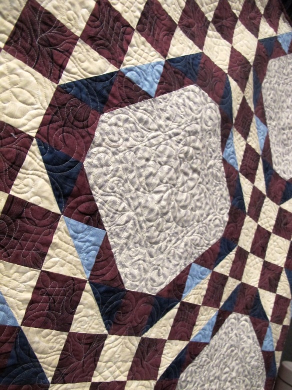 Regal Mary Quilt by Tiffany Hayes using Downton Abbey Fabrics by Kathy Hall