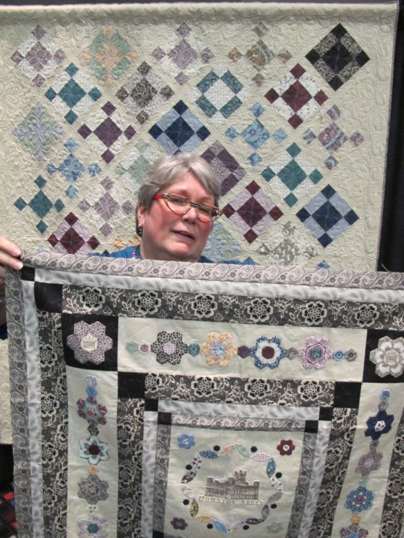 The Kathy Hall, designer of the Downton Abbey fabric collection