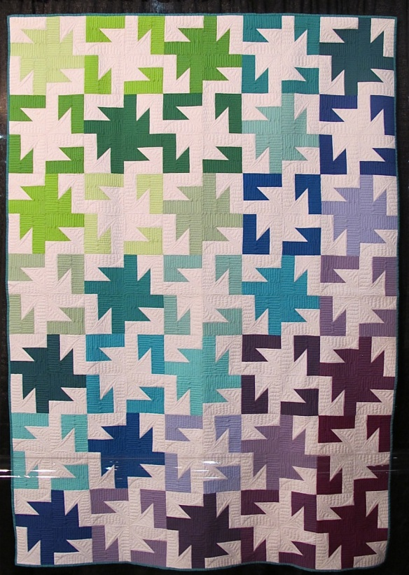 Sparkler by Lee Heinrich, quilted by Jeny Pedigo