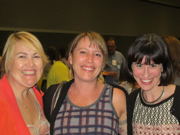 Kim Andersson, Tara Faughnan and Caitley Symons