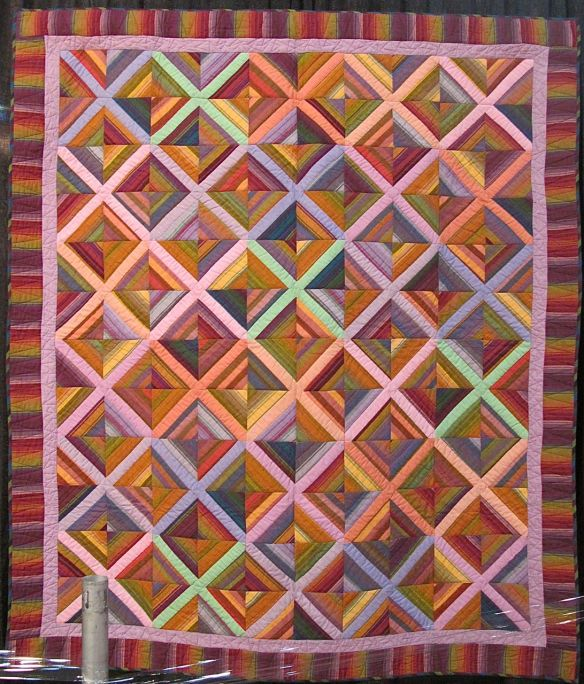 X EFFECT, by Kaffe Fassett and Liza Prior Lucy, quilted by Judy Irish