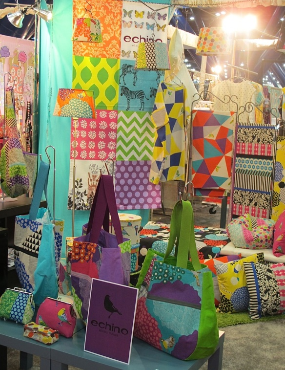 Seven Islands/ Echino Booth at Quilt Market