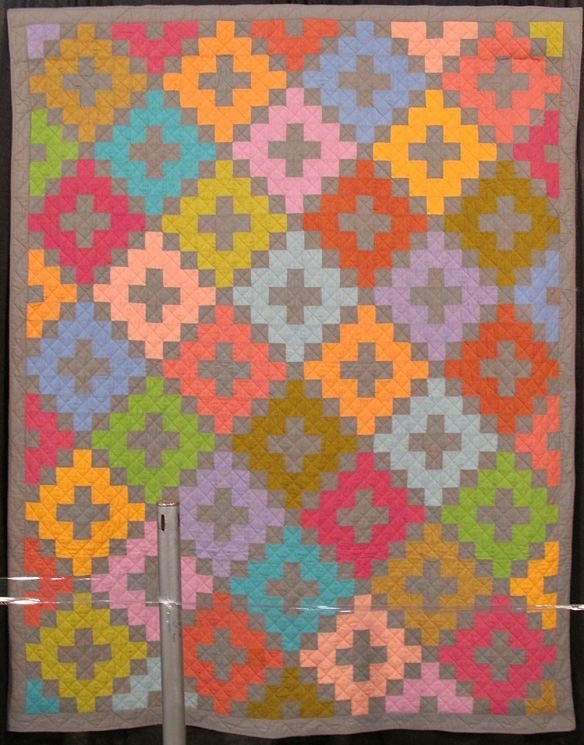 CHIMNEY SWEEP,  by Kaffe Fassett and Liza Prior Lucy, quilted by Judy Irish