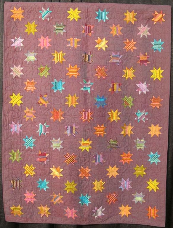 TWINKLE, by Corienne Kramer and Judy Baldwin, quilted by Bobbi Penniman