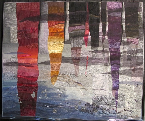 Stalagmites by Mitsuko Kinoshita