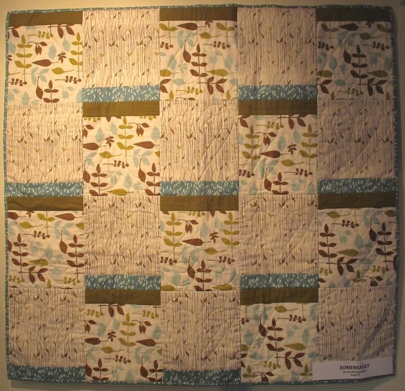 Somersault by Denise Killingsworth, p. 24 of Quilts! Quilts!! Quilts!!! 3rd edition