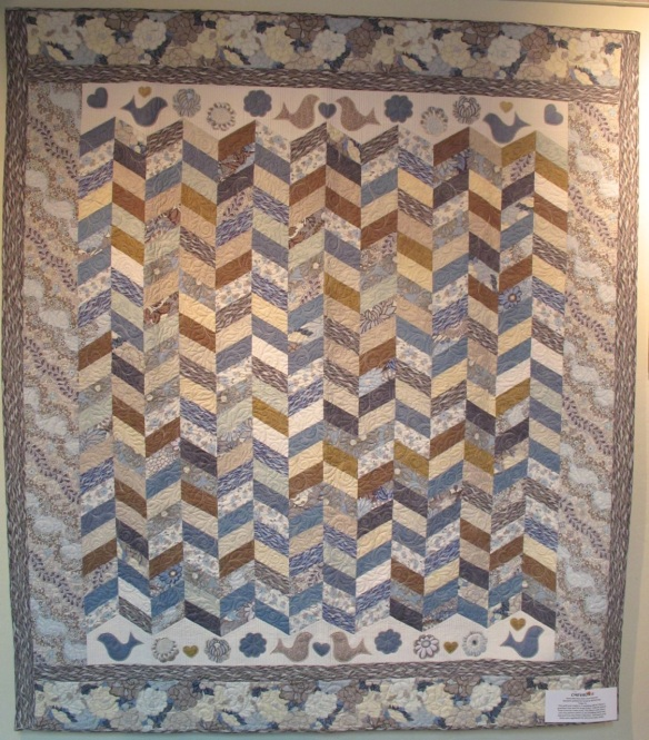 Chevron by Diana McClun, p. 72 of Quilts! Quilts!! Quilts!!! 3rd edition