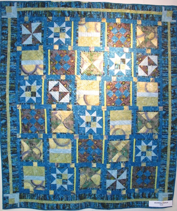 Beginning Sampler by Nikki Vilas, p. 182 of Quilts! Quilts!! Quilts!!! 3rd edition
