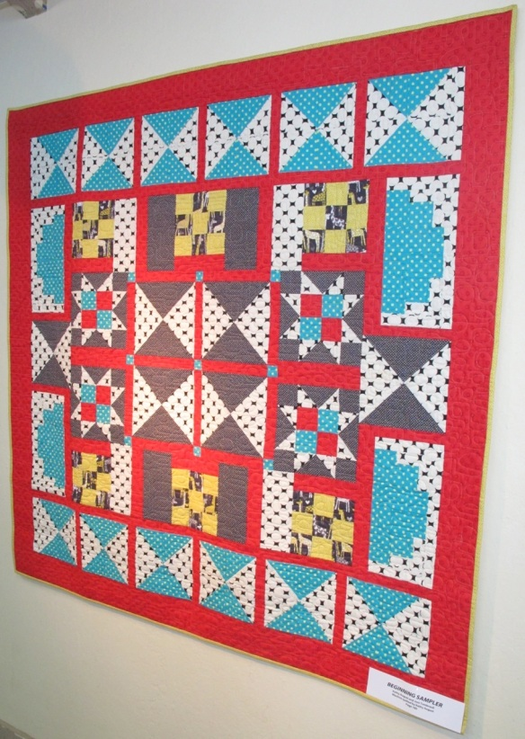 Beginning Sampler by Kathy August and Joni Tremreull, p. 180 of Quilts! Quilts!! Quilts!!! 3rd edition
