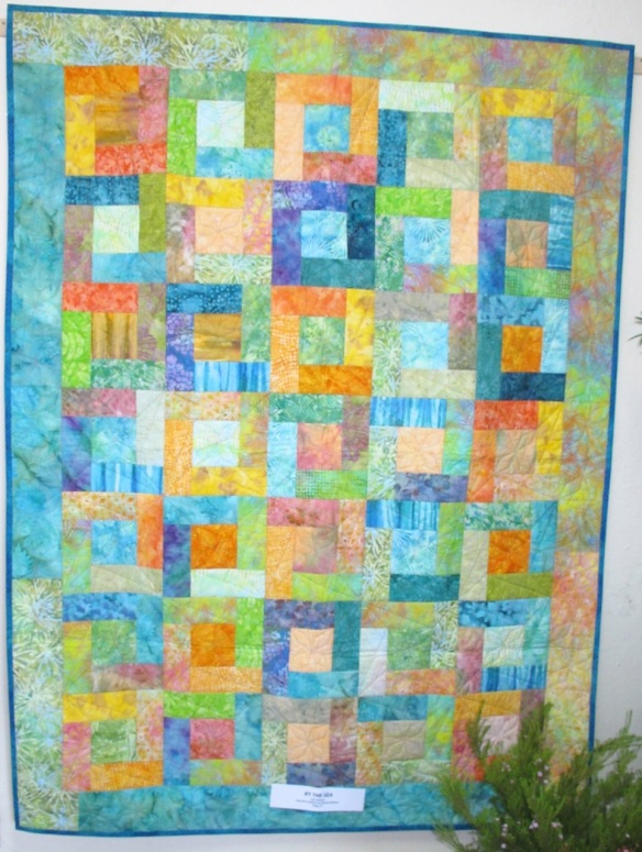By The Sea by Gail Abeloe, quilted by Sharon Winter, p. 37 of Quilts! Quilts!! Quilts!!! 3rd edition
