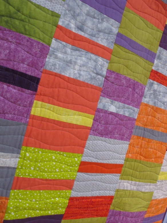 Lazy Day Quilt by Gail Abeloe