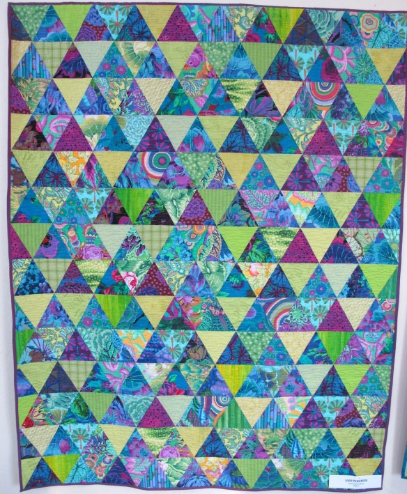 1000 Pyramids by Pauline Stone Pearsall, p. 52 of Quilts! Quilts!! Quilts!!! 3rd edition