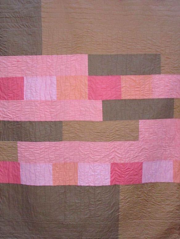 Back of Sugar Pop Quilt by Carol Van Zandt
