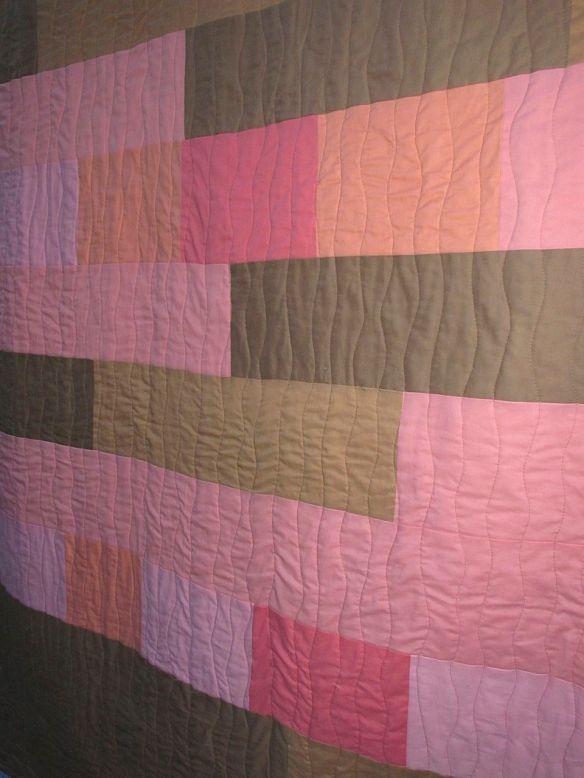 Back of Sugar Pop Quilt by Carol Van Zandt