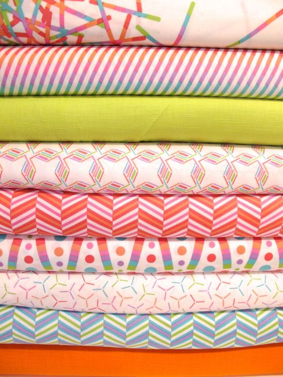 "Pop Rox ""sugar"" by CAROL VAN ZANDT LLC for Andover Fabrics Inc."