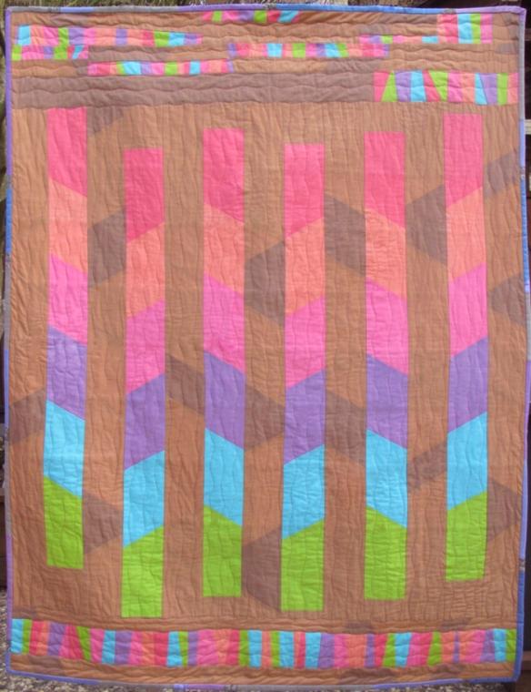 Sugar Pop Quilt by Carol Van Zandt