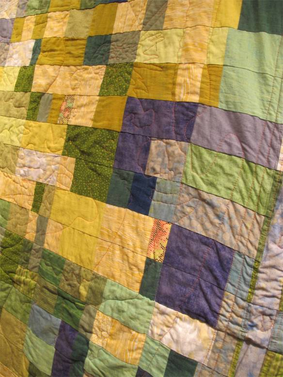 Cartography Quilt: Sacramento and Surrounds by Adrienne St. John