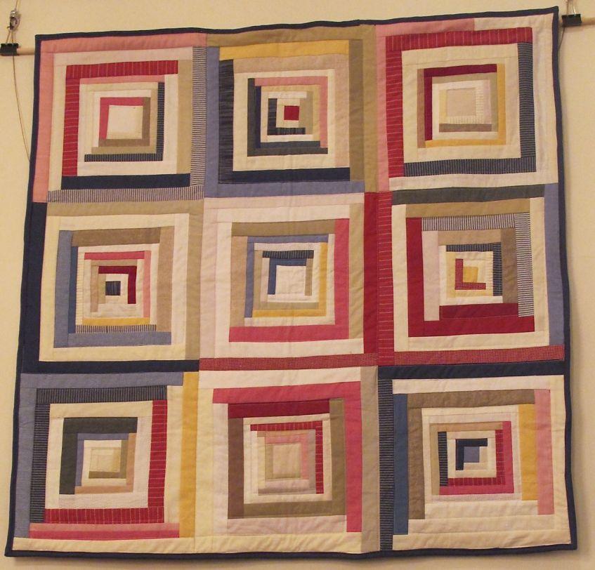 Rhett's Baby Quilt by Tara Faughnan