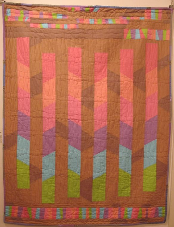 Sugar Pop quilt by Carol Van Zandt