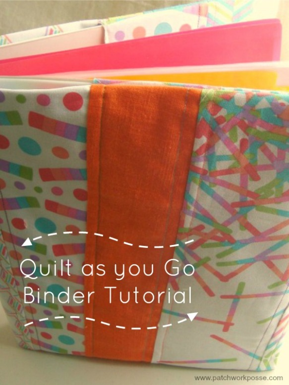 Quilt as You Go Binder Tutorial by Patchwork Posse