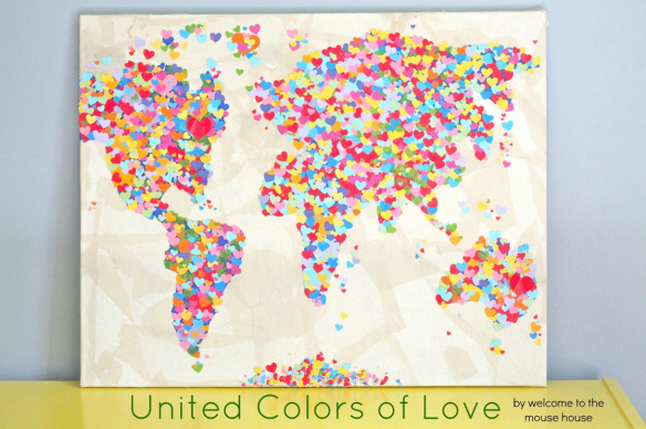 United Colors of Love by Welcome to the Mouse House