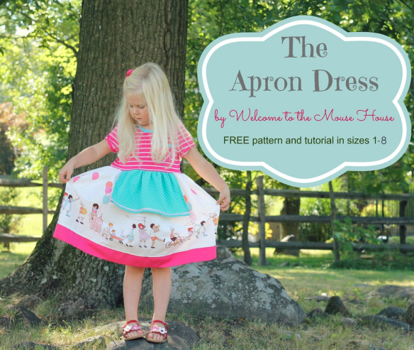 The Apron Dress Tutorial by Welcome to the Mouse House