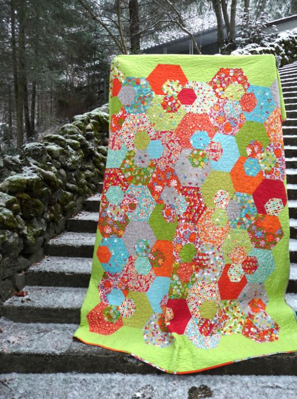Lexington lane quilt  by Sassafras Lane Designs