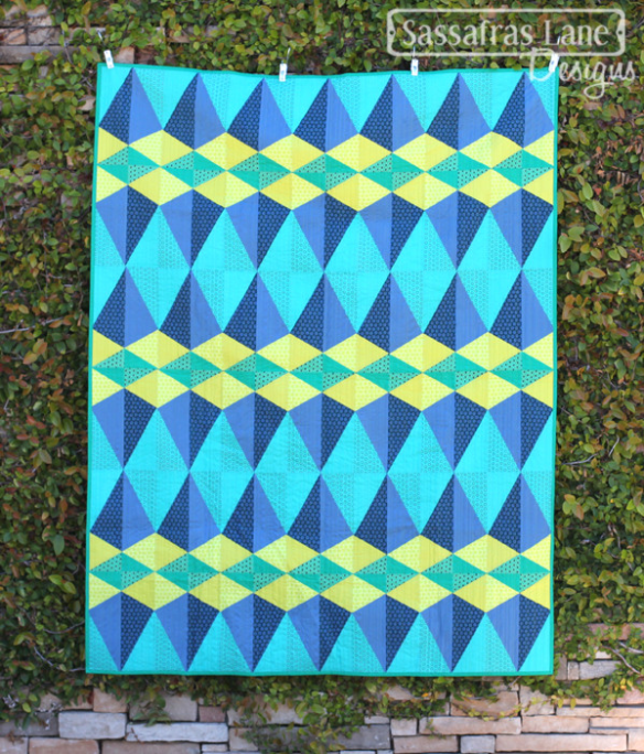 Euclid Avenue quilt by Sassafras Lane Designs