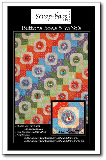 Buttons Bows & Yo Yo's by Jamie Kalvestran