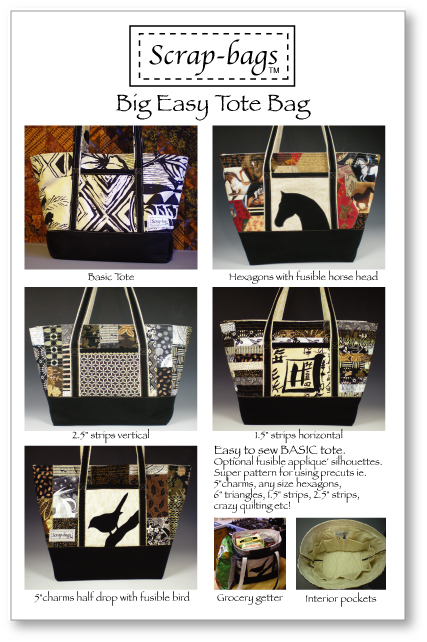 Big Easy Tote Bag by Jamie Kalvestran