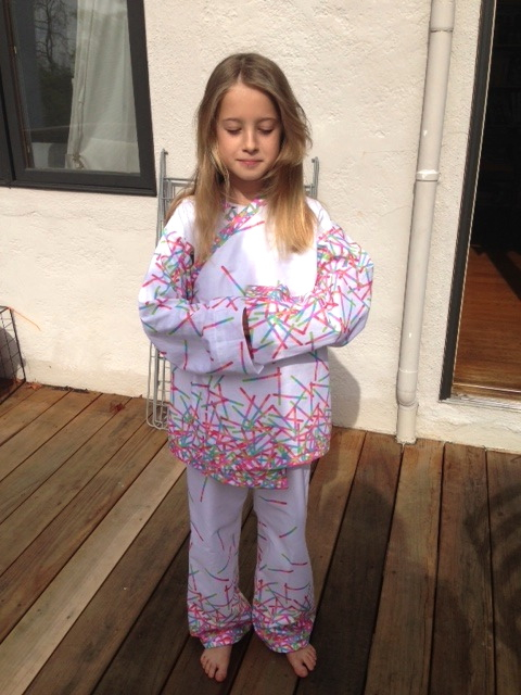 Oliver + S pajamas by by Birgit Hottenrott using Pop Rox