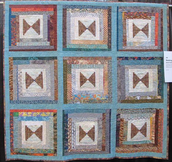 Wedding Quilt by Sheret Goddard