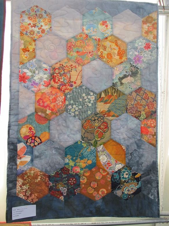 Floral Hexagons by Lisa Doyen