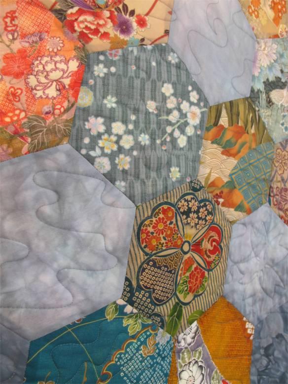 Floral Hexagons by Lisa Doyen