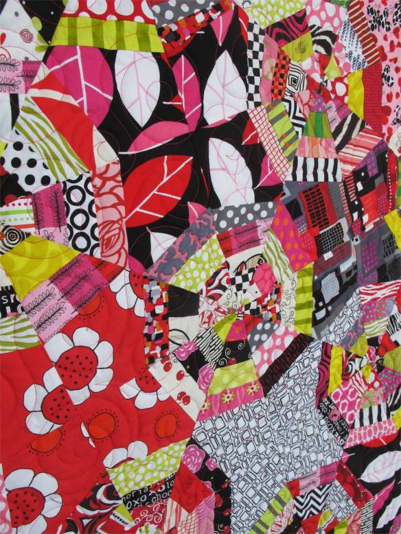 On The Web by Carolyn Brien, quilted by Marla Monson