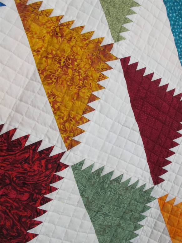 Indian Meadows by Carolyn Earls, from The Ultimate Quilting Book