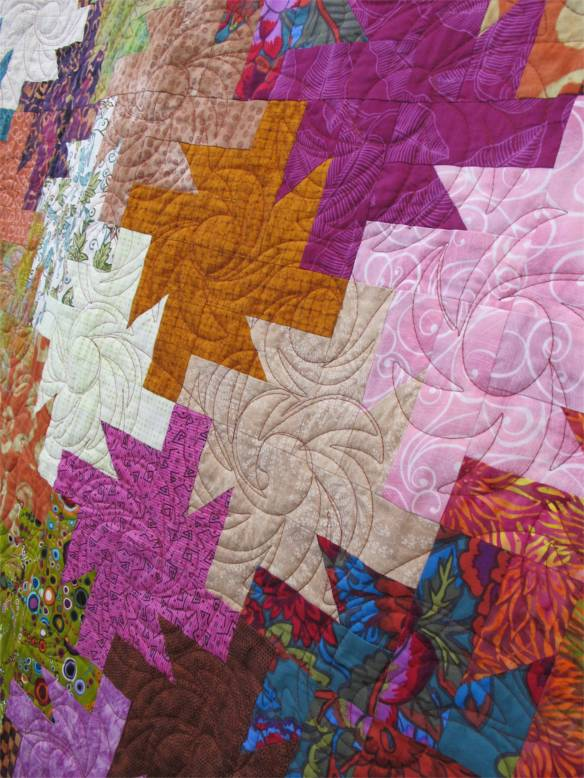 Fifty Sun Daze by Joyce Teekell, quilted by Janice Skiles