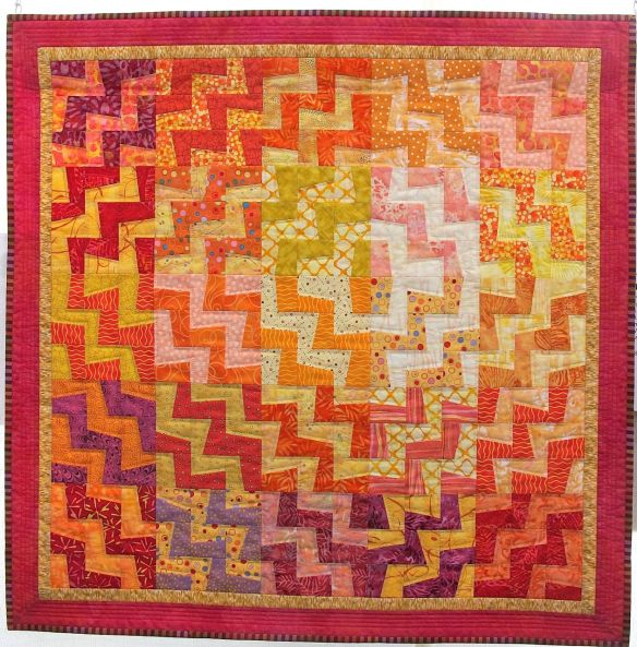 Solar Power by Lynn Crook. Pattern by Pam Rocco.