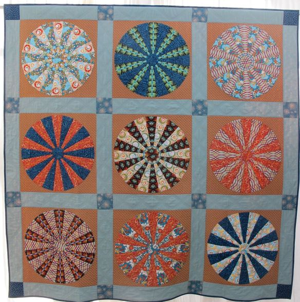 A Circle Game by Mary Jo Morris, design from Kathy Doughty's book Making Quilts